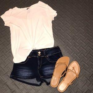 Dark YMI Jean Shorts